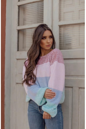 Blusa Candy Mousse